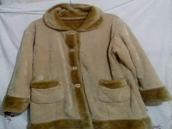 معطف قطن دافئ ناعم مناسب للطقس البارد