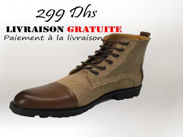 (c1) nouvelle collection cuir bottine