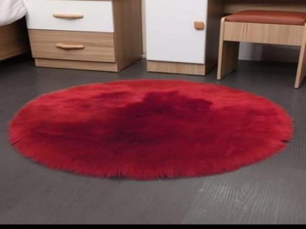 tapis cœurs tapis rondelles